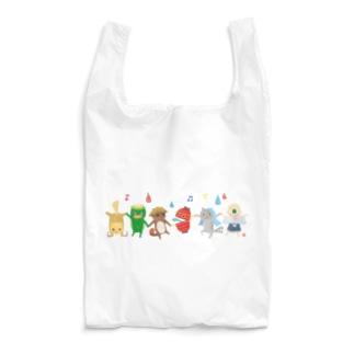 おばけエコバッグ<妖怪ラインダンス> Reusable Bag