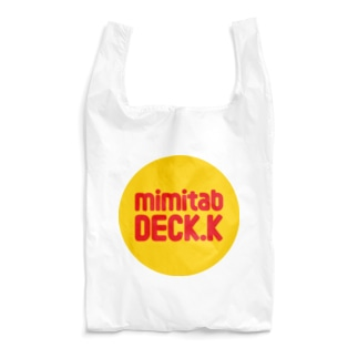 耳たぶでっけー(黄丸ロゴ) Reusable Bag