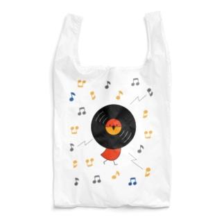 レコードリお日様 ハイテンション Reusable Bag