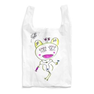 折り畳める✨御乱心エコバッグ・ウコミさん Reusable Bag