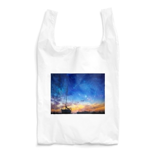 Voyage in the stars Reusable Bag