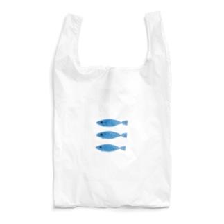 刺繍(魚) Reusable Bag