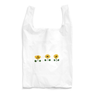 刺繍(花) Reusable Bag