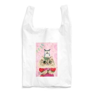 いちご狩りのくるみちゃん Reusable Bag