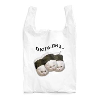 俵おにぎり×3 Reusable Bag