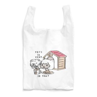 CT112 YETI is yeahの家でお茶 Reusable Bag