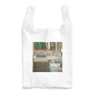 空っぽの朝 Reusable Bag