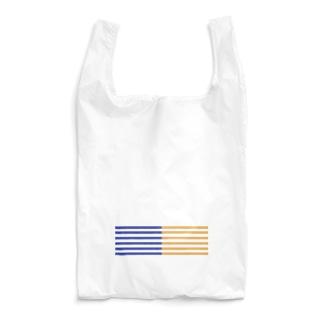 twocolorstripe Reusable Bag