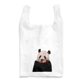 パンダ と スイカ Reusable Bag