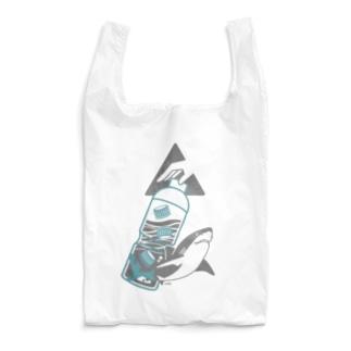海洋ゴミから守りたい | サメ Ver. Reusable Bag