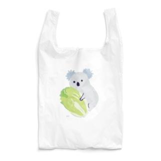どうぶつエコバッグ<白菜に寄り添うコアラ> Reusable Bag