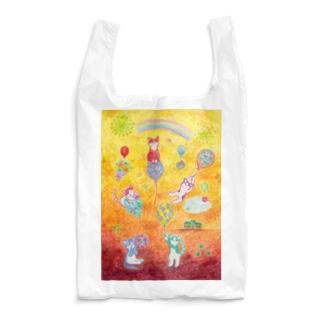 今日は風船遊びの日 Reusable Bag