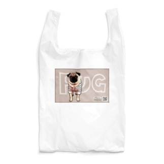 PUG-パグ-ぱぐ パグ グッズ エコ マイバック-2 Reusable Bag