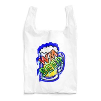 WM©︎(Blue beer🍻 Reusable Bag