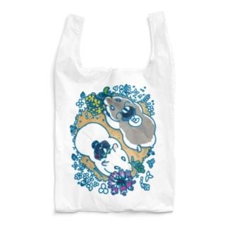 ハムスター・春の野・2匹 Reusable Bag