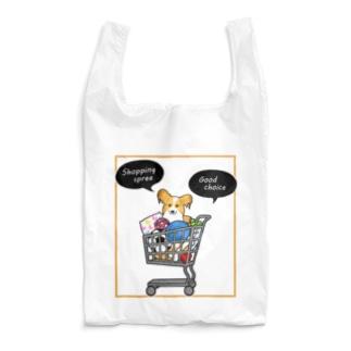 お買い物大好きパピヨンさん Reusable Bag