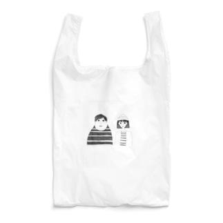 シュールな両親 Reusable Bag