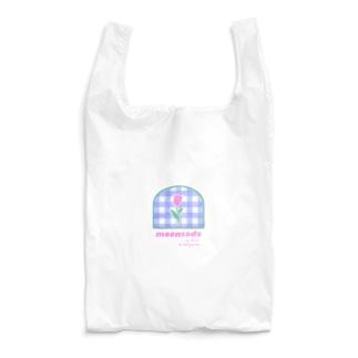 tulip×check Reusable Bag