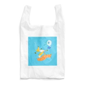 Kitsune  お昼寝 Reusable Bag