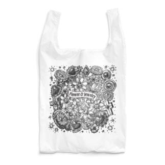 Flower&Jewelry Reusable Bag