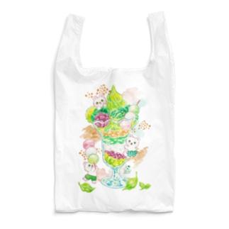 抹茶パフェ Reusable Bag