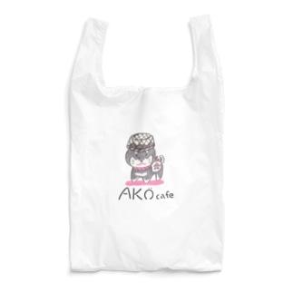 AKOcafe*黒柴犬はりこ* Reusable Bag