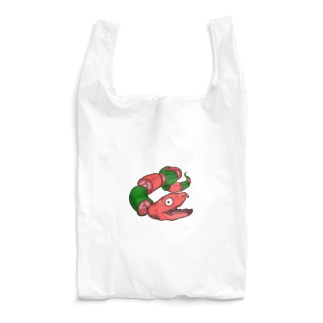 バラバラヘビ Reusable Bag