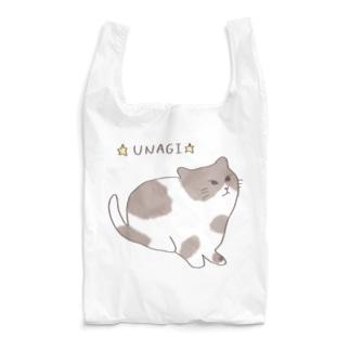 カラーうなぎちゃんエコバック Reusable Bag