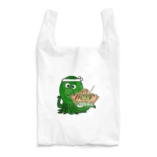 タコ焼きシロちゃん Reusable Bag