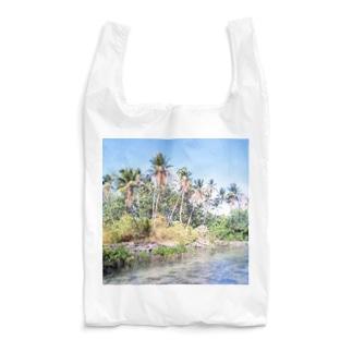 ミクロネシア:ナンマトル遺跡の風景写真 Micronesia: Nan Madol / Pohnpei Reusable Bag