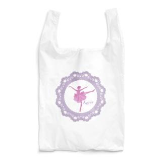 華やかなバレリーナ Reusable Bag