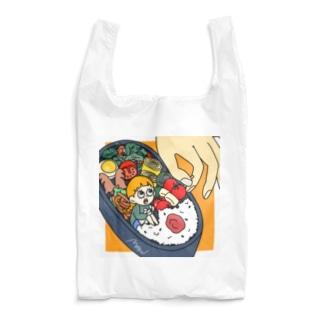 marinのハコイリムスメ(弁当箱) エコバッグ Reusable Bag