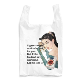 煙草好きなんだもの。 Reusable Bag