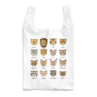野生のにゃん図鑑 Reusable Bag