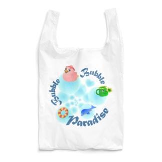 泡あわパラダイス Reusable Bag