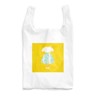 小鳥スカート Reusable Bag