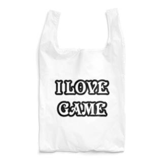 ゲーム好きです Reusable Bag
