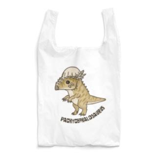 恐竜 パキケファロサウルス Reusable Bag