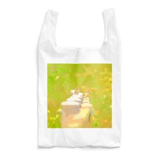 スズメの群れ Reusable Bag