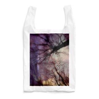 夕暮れの木々の囁き Reusable Bag