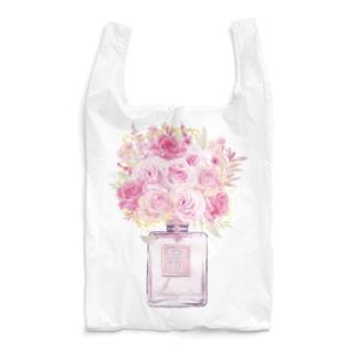 アンドアイデザイン 数秘&カラー🄬オマージュボトルNo6&BLUE&PINK Reusable Bag