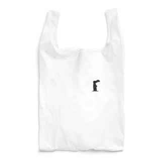 サモトラケのニケ(ワンポイント 黒) Reusable Bag