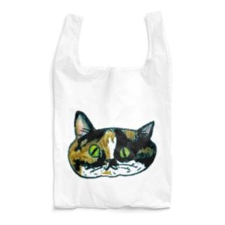 ミケ女やよ Reusable Bag