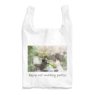 Enjoy our wedding party! Reusable Bag