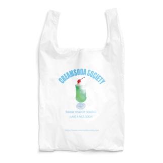 クリームソーダソサエティ Reusable Bag