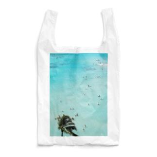 ワイキキビーチ縦 Reusable Bag