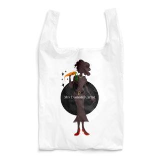 ダイヤモンドキャロット夫人-エコバッグ Reusable Bag