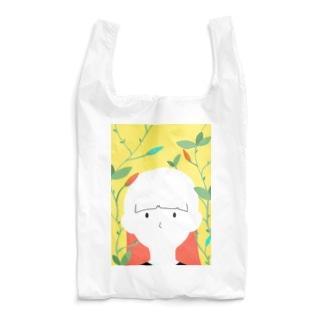 つぼみと女の子 Reusable Bag