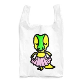 ぺこりティラノサウルス君 Reusable Bag
