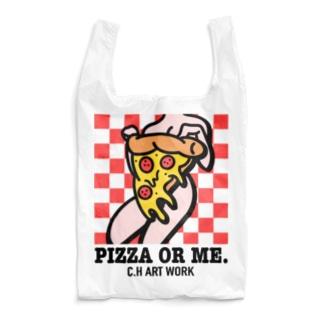 """""""Pizza Or Me"""" Reusable Bag"""